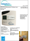Islandaire Infrared Thermostat Specs